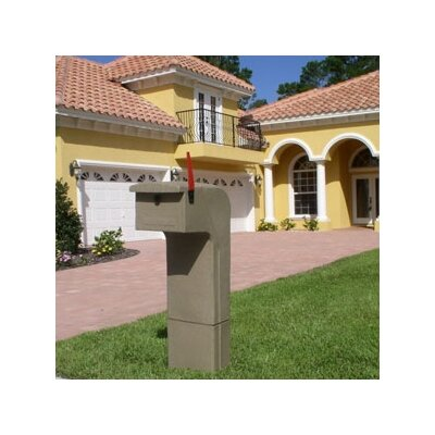 Mail Gator, Inc Mail Gator Column Mounted Mailbox