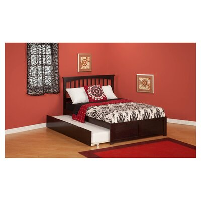 <strong>Atlantic Furniture</strong> Urban Lifestyle Mission Bed with Trundle