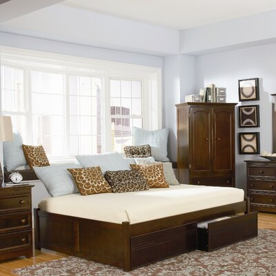 Atlantic Furniture Concord Storage Platform Bed