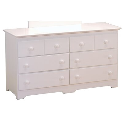 Atlantic Furniture Windsor 6 Drawer Dresser