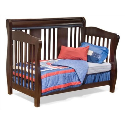 Atlantic Furniture Versailles 4-in-1 Convertible Crib Set