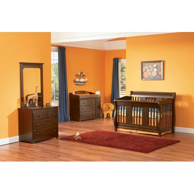 Versailles 4-in-1 Convertible Crib Set