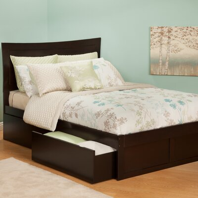 Atlantic Furniture Urban Lifestyle Metro Bed with 2 Bed Drawer Sets