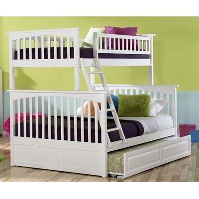 Atlantic Furniture Columbia Bunk Bed with Trundle Bed