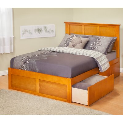 Atlantic Furniture Urban Lifestyle Madison Bed with Bed Drawers Set