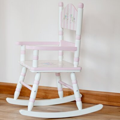 Bouquet Girl's Kid's Rocking Chair