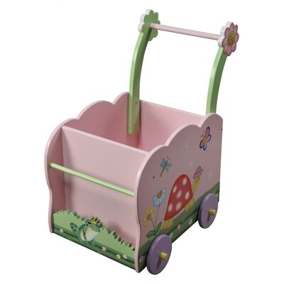 Teamson Kids Magic Garden Push Cart