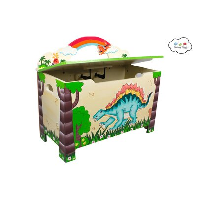 Teamson Kids Dinosaur Kingdom Children's Toy Box