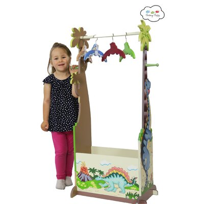 Teamson Kids Dinosaur Kingdom Children's Hanger