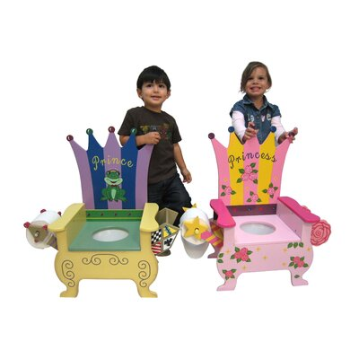 Teamson Kids Potty Prince Themed Kid's Novelty Chair