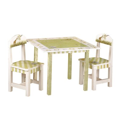 Teamson Kids Alphabet Children's Writing Table