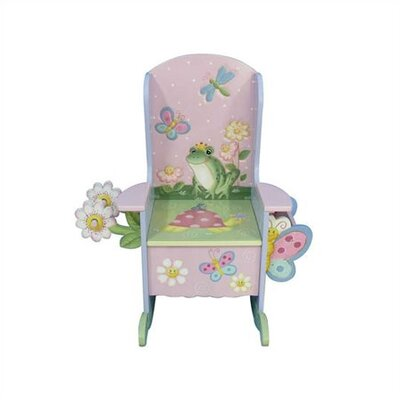 Teamson Kids Potty Garden Themed Kid's Novelty Chair