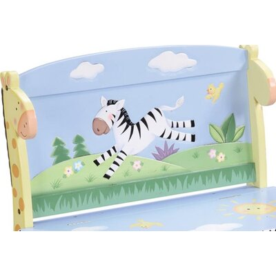 Teamson Kids Sunny Safari Kid's Storage Bench