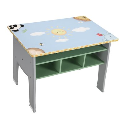 Teamson Kids Sunny Safari Table and Chair Set