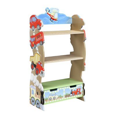 "Teamson Kids Transportation 41"" Bookcase"