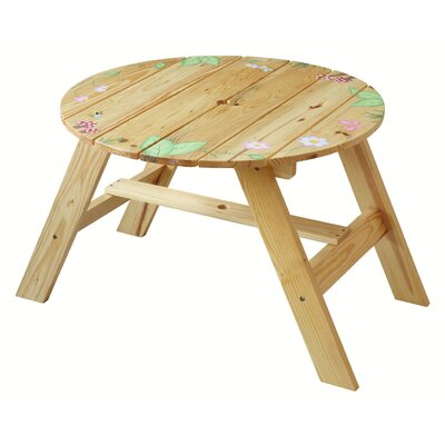 Teamson Kids Magic Garden Kids' 4 Piece Table and Chair Set