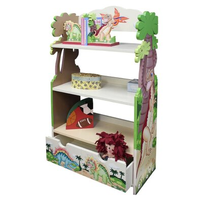 Teamson Kids Dinosaur Kingdom Children's Bookcase
