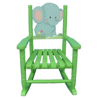 Elephant Kid's Rocking Chair
