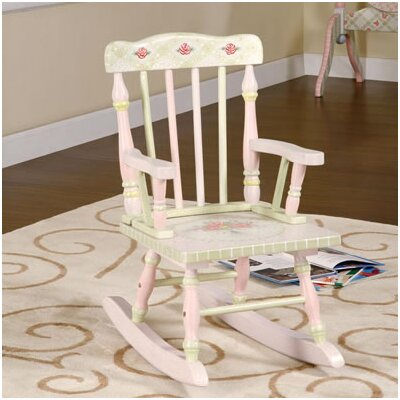 Safari Crackle Kid's Rocking Chair