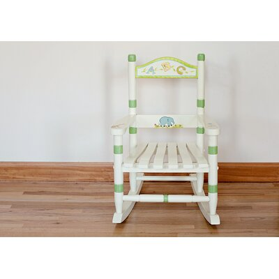 Teamson Kids Alphabet Kid's Rocking Chair
