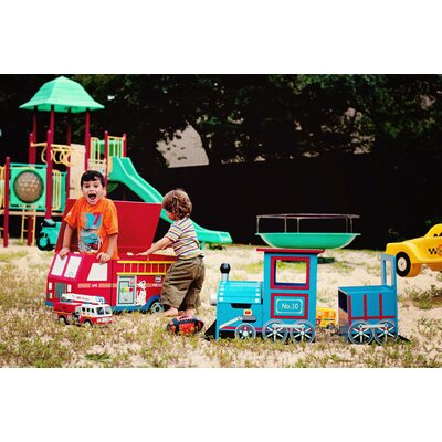 Teamson Kids Wings and Wheels Kids' 2 Piece Table and Chair Set