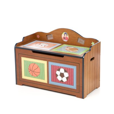 Teamson Kids Little Sports Fan Toy Box