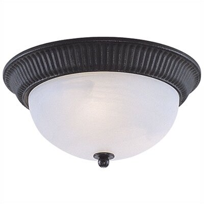 Sea Gull Lighting Catrina 1 Light Flush Mount