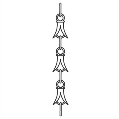 "Sea Gull Lighting 72"" Chandelier or Pendant Chain in Regal Bronze"