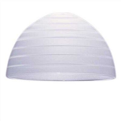 Sea Gull Lighting White Glass Lamp Shade with Etched Step Design for Ambiance Track Lighting ...