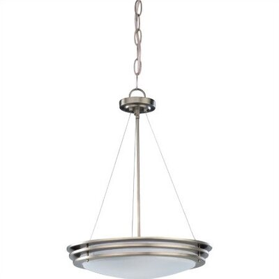 Sea Gull Lighting Nexus 2 Light Convertible Inverted Pendant