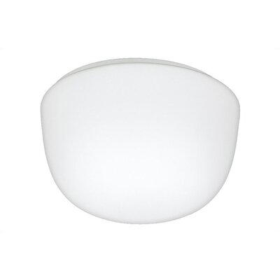 "Sea Gull Lighting Mushroom 4.5"" 1 Light Flush Mount"