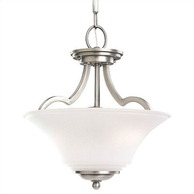Sea Gull Lighting Somerton 2 Light Convertible Inverted Pendant
