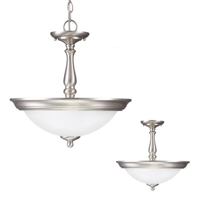 Northbrook 2 Light Bowl Pendant