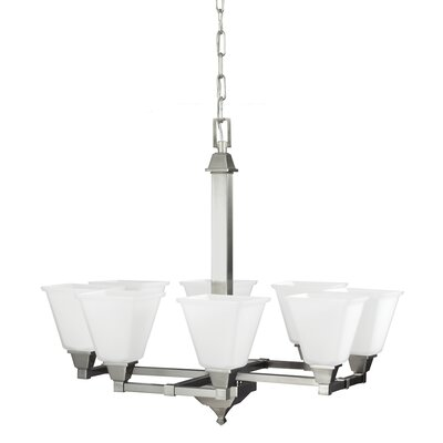 Denhelm 8 Light Chandelier