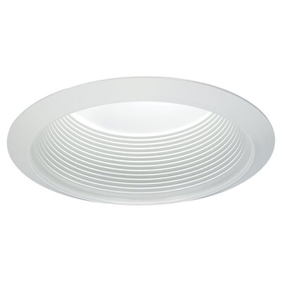 Sea Gull Lighting Trim with Airtight Gasket in White