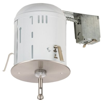 RTx Recessed Housing Power Feed Canopy with Transformer in Brushed Stainless Steel