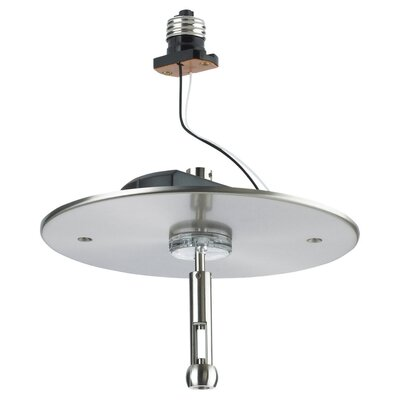 Sea Gull Lighting Recessed Housing Power Feed Adapter in Brushed Stainless
