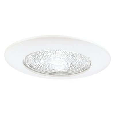 "Sea Gull Lighting 4.25"" x 8"" Shower Trim in White"