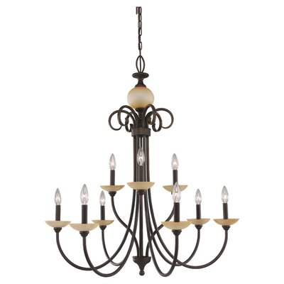 Montclaire 9 Light Chandelier
