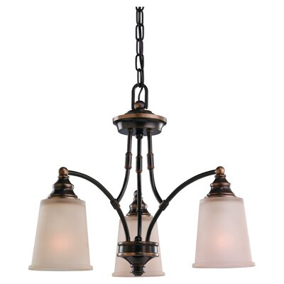 Sea Gull Lighting Warwick 3 Light Chandelier