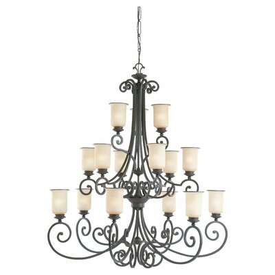 Acadia 15 Light Chandelier