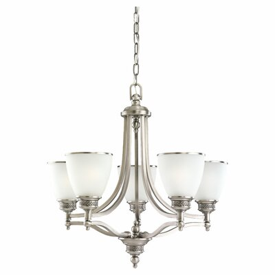 Laurel Leaf 5 Light Chandelier