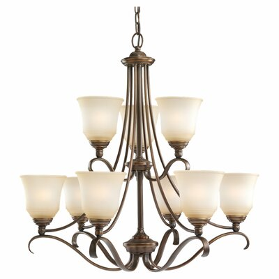Sea Gull Lighting 9 Light Chandelier