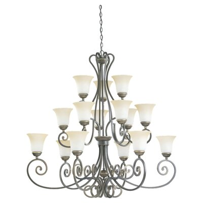 Sea Gull Lighting Brandywine 15 Light Chandelier