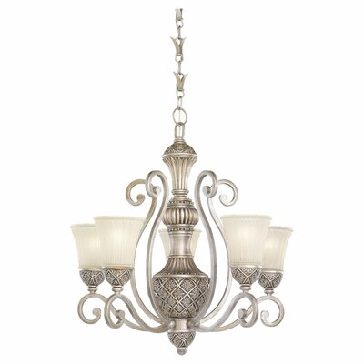 Sea Gull Lighting Highlands 5 Light Chandelier with Chain