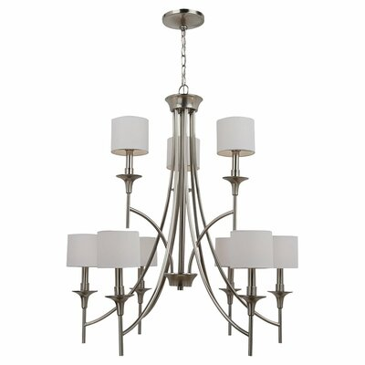 Sea Gull Lighting Stirling 9 Light Chandelier