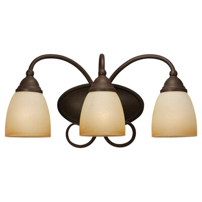 Sea Gull Lighting Montclaire 3 Light  Wall Sconce
