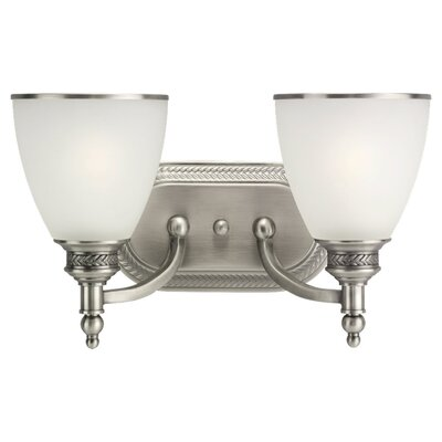 Sea Gull Lighting Laurel Leaf 2 Light Vanity Light