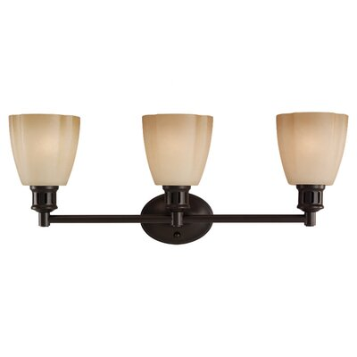 Sea Gull Lighting Century 3 Light Vanity Light