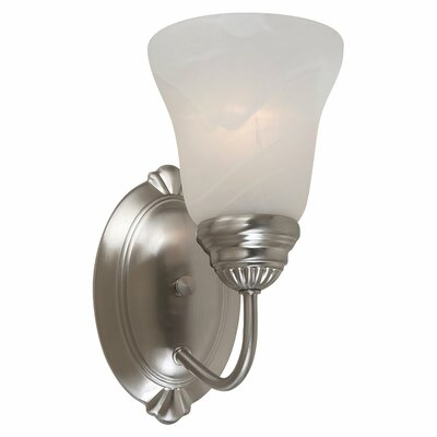 Sea Gull Lighting Oaklyn 1 Light Bath Vanity Light